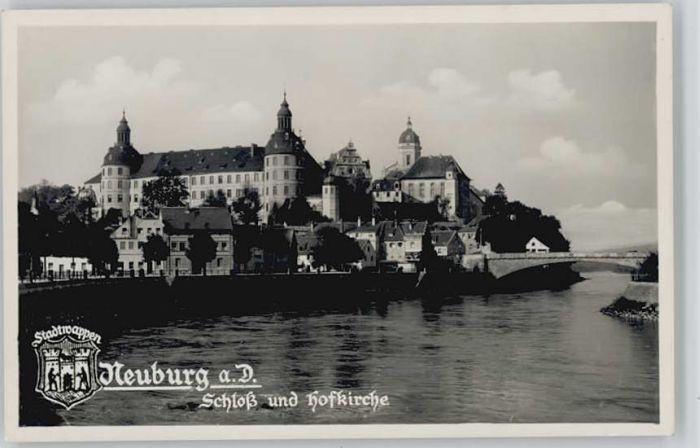 Neuburg Donau Schloss Wappen *