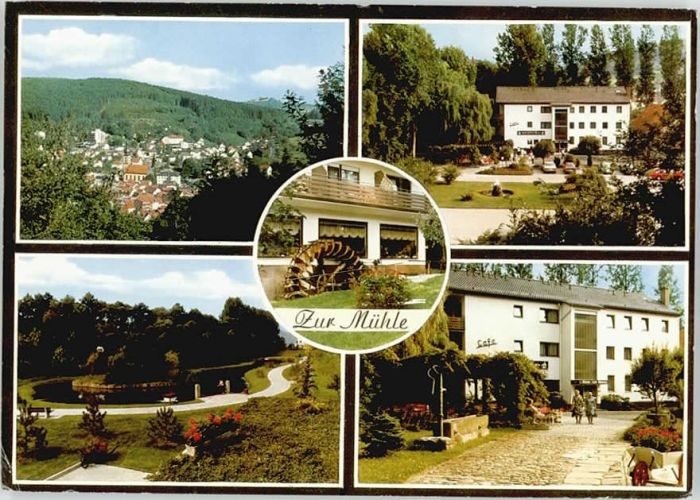 Bad Brueckenau Hotel Cafe Zur Muehle X Nr We15295 Oldthing