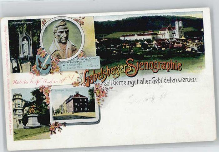 Ottobeuren Franz Xaver Gabelsberger Feldpost x