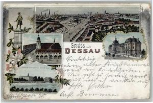 Dessau-Rosslau Dessau Fuerst Leopold Markt Palast x / Dessau-Rosslau /Anhalt-Bitterfeld LKR