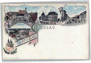 Dessau-Rosslau Dessau Markt Palast Kavalierstrasse * / Dessau-Rosslau /Anhalt-Bitterfeld LKR