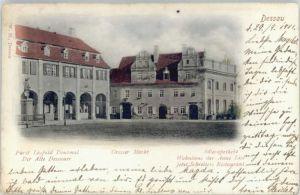 Dessau-Rosslau Dessau Markt Apotheke  x / Dessau-Rosslau /Anhalt-Bitterfeld LKR