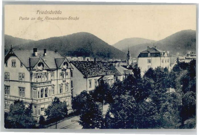 Friedrichroda Friedrichroda Alexandrinen-Strasse x / Friedrichroda /Gotha LKR