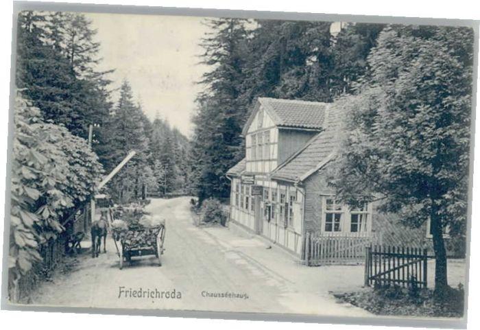 Friedrichroda Chausseehaus x