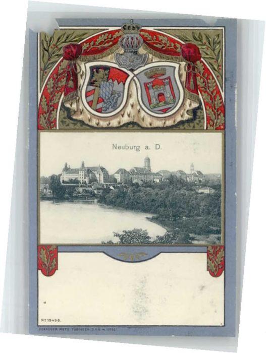 Neuburg Donau Neuburg Donau Wappen Praegedruck * / Neuburg a.d.Donau /Neuburg-Schrobenhausen LKR