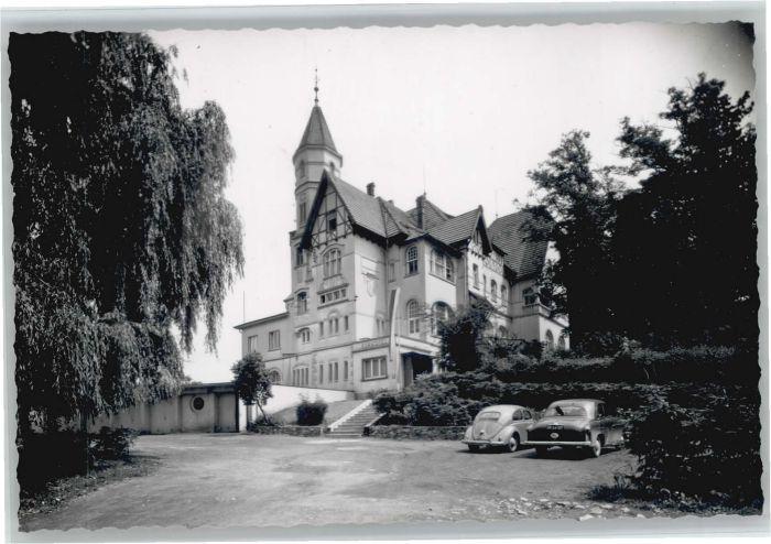 Arnsberg Westfalen Arnsberg Kurhaus Klosterberg * / Arnsberg /Hochsauerlandkreis LKR