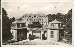 Neuwied Rhein Fuerstl. Wied-Schloss / Neuwied /Neuwied LKR