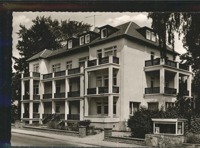 Bad Pyrmont Pension Haus Kuehlberg / Bad Pyrmont /Hameln-Pyrmont LKR