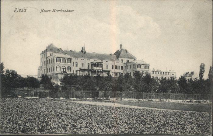 Riesa Neues Krankenhaus x Nr. ws96465 - oldthing: Ansichtskarten ...