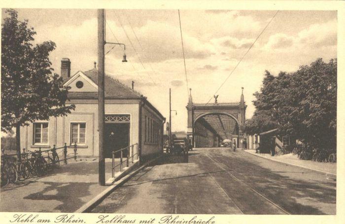 Kehl Zollhaus Rheinbruecke *