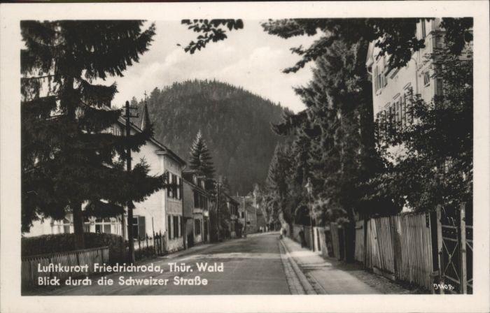 Friedrichroda Schweizer Strasse