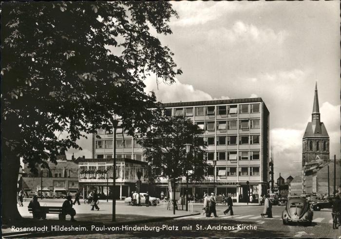 Hildesheim Paul-von-Hindenburg-Platz St. Andreas-Kirche / Hildesheim /Hildesheim LKR