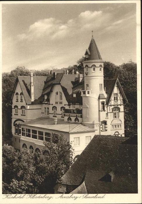 Arnsberg Westfalen Kurhotel Klosterberg / Arnsberg /Hochsauerlandkreis LKR