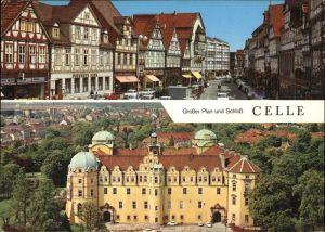 Celle Niedersachsen Grosser Plan Schloss / Celle /Celle LKR