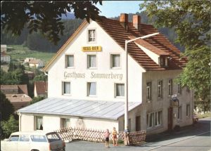 Lenzkirch Gasthaus Sommerberg Kat. Lenzkirch
