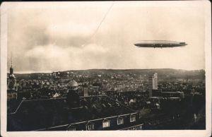 Stuttgart Luftschiff Graf Zeppelin Kat. Stuttgart