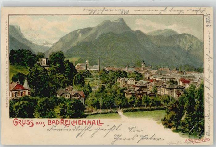 Bad Reichenhall Bad Reichenhall KuenstlerErw. Spindler x 1902 / Bad Reichenhall /Berchtesgadener Land LKR