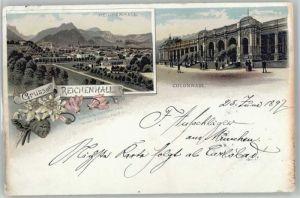 Bad Reichenhall Kolonnaden x 1897