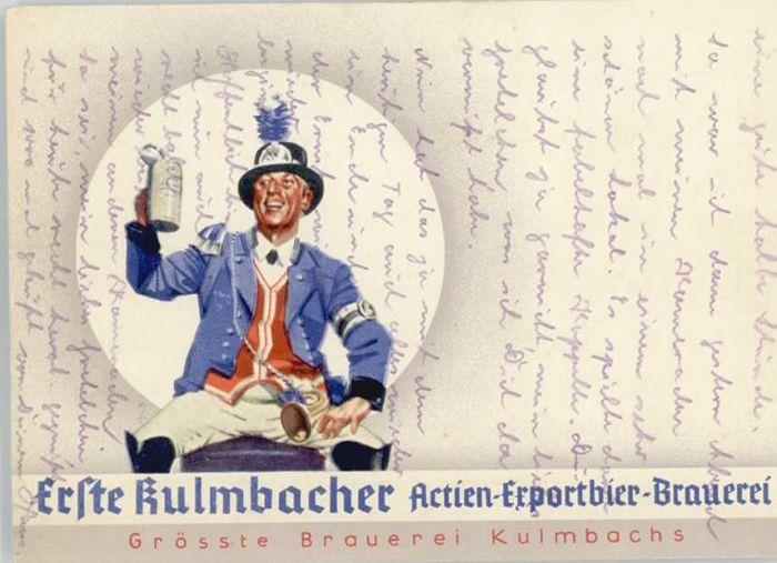 Kulmbach Actien Exportbier Brauerei *