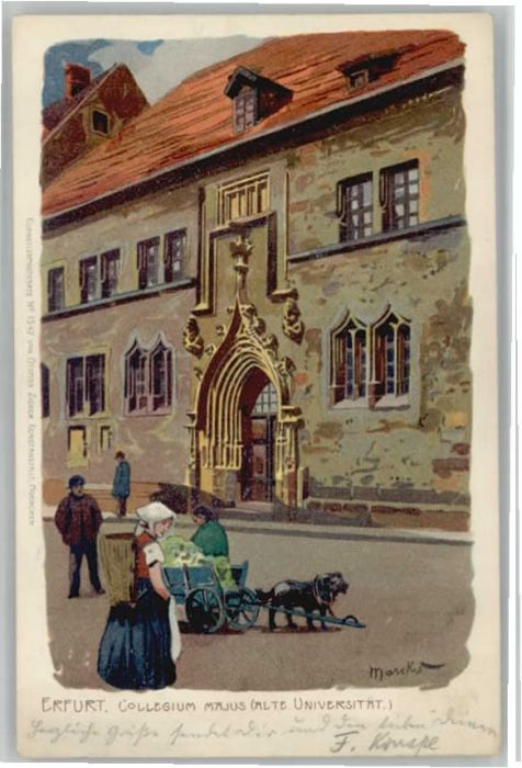 Erfurt Erfurt Kollegium Majus Universitaet Kuenstler Marcks x / Erfurt /Erfurt Stadtkreis