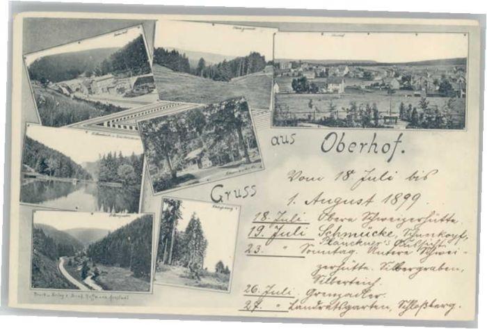 Oberhof Thueringen Oberhof Thueringen  * / Oberhof Thueringen /Schmalkalden-Meiningen LKR