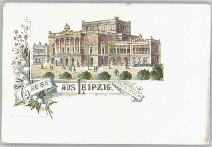 Leipzig Leipzig Neues Theater * / Leipzig /Leipzig Stadtkreis
