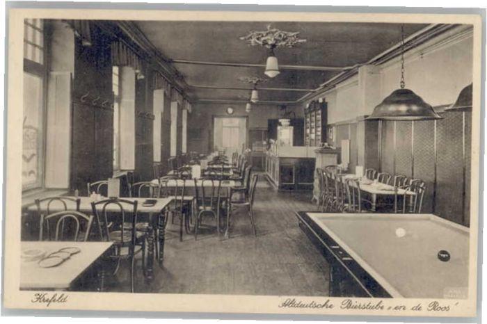 Krefeld Bierstube en de Roos Billiardtisch * Nr. we68229 - oldthing ...