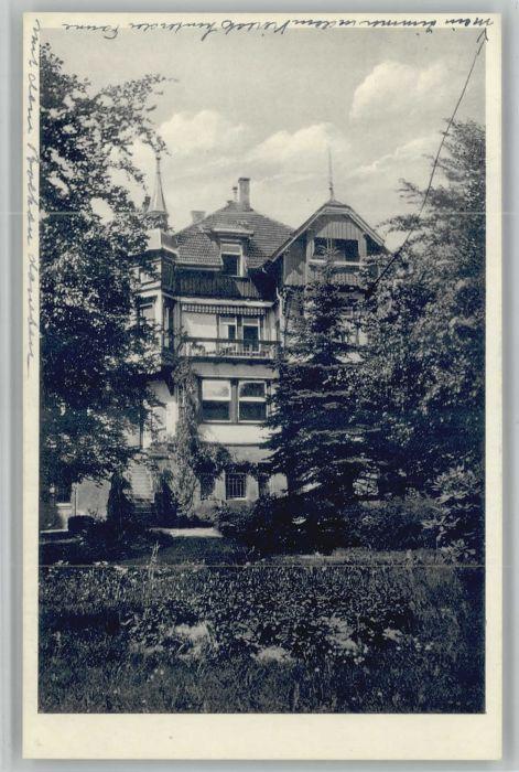 Freudenstadt Freudenstadt Pension Pauline * / Freudenstadt /Freudenstadt LKR