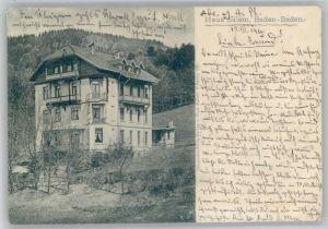 Baden-Baden Baden-Baden Haus Salem x / Baden-Baden /Baden-Baden Stadtkreis