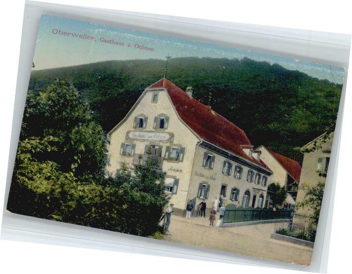 Badenweiler Oberweiler Gasthaus zum Ochsen *