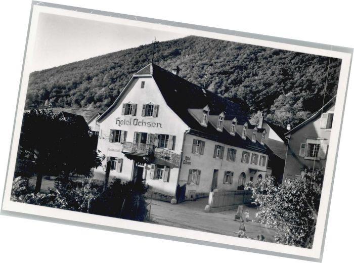 Badenweiler Badenweiler Hotel zum Ochsen * / Badenweiler /Breisgau-Hochschwarzwald LKR