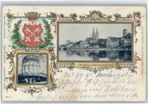Regensburg Befreiungshalle Wappen x