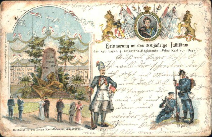 Augsburg Denkmal Soldaten x