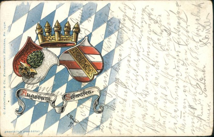 Augsburg Augsburg Wappen x / Augsburg /Augsburg LKR