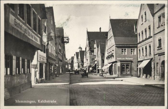 Memmingen Memmingen Kalchstrasse * / Memmingen /Memmingen Stadtkreis