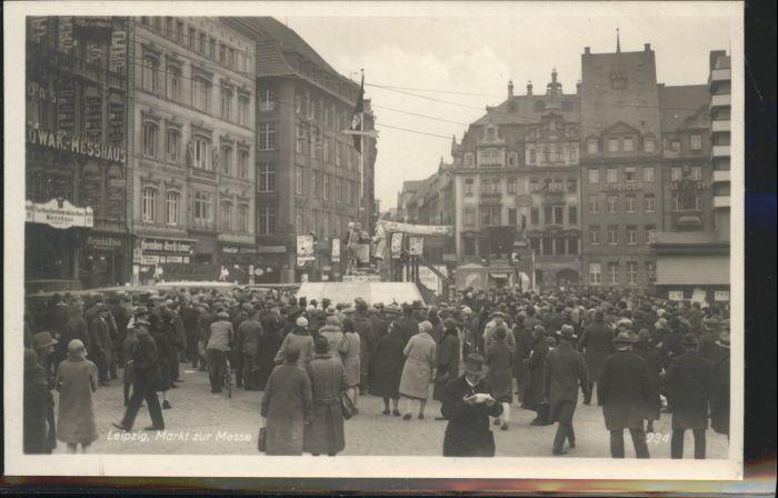 Leipzig Markt Messe