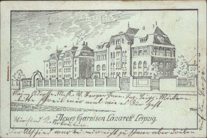 Leipzig Garnison Lazarett
