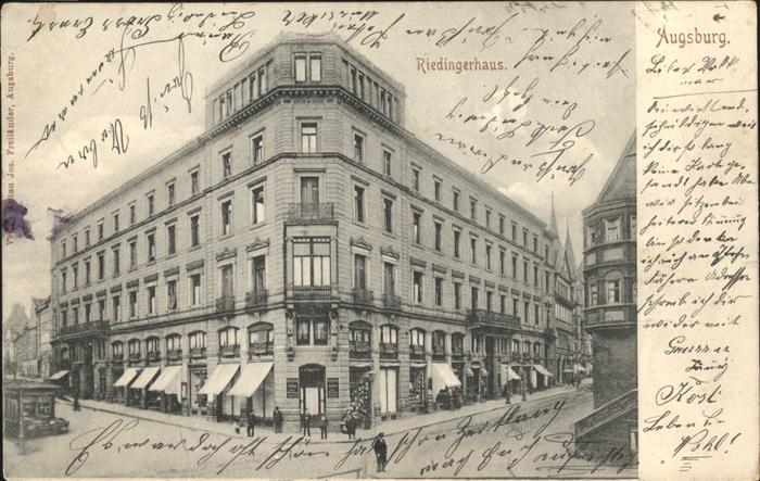 Augsburg Riedingerhaus 0