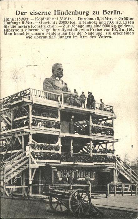 Berlin Der eiserne Hindenburg