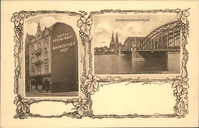 Koeln Hotel Bayerischer Hof