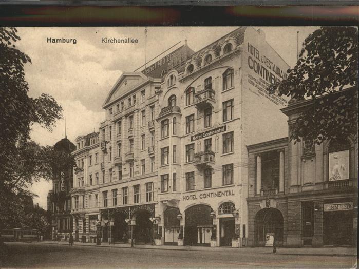 Hamburg Kirchenallee Hotel Continental