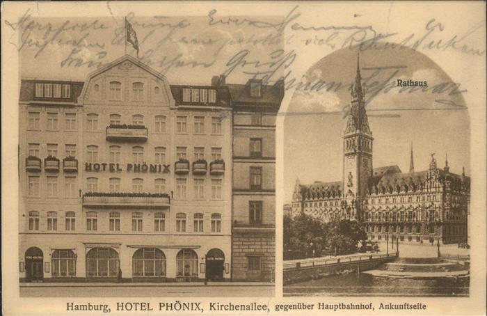 Hamburg Hotel Phoenix Kirchenallee Rathaus