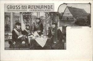 Hamburg Altenlande Altlaender Kaffee Gesellschaft Bauernhaus