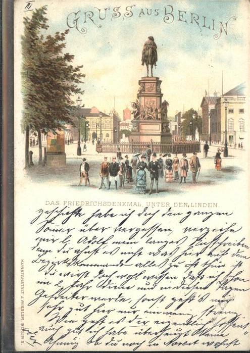 Berlin Friedrichs Denkmal