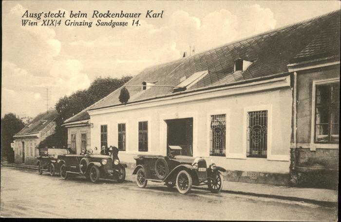 Wien Rockebauer Karl
