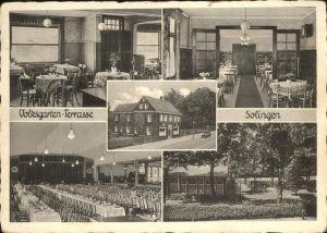 Solingen Volksgarten Terrasse