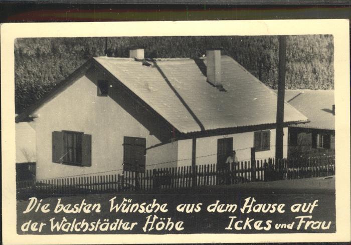 Berlin Jcking Walchstadt Paul Ickes Kat. Berlin