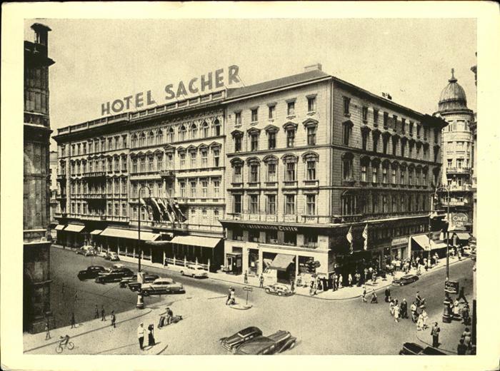 Wien Hotel Sacher Kat. Wien