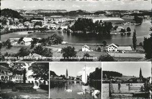 Mattsee Salzburg Salzburg Sommerfrische Badeort / Mattsee /Salzburg und Umgebung