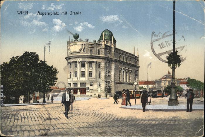 Wien Aspernplatz Urania